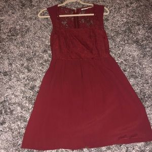 Urban Outfitters red dress size 2